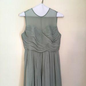 Jcrew Clara Bridesmaid Dress 6P Dusty Shale